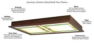 Craftsman Style Ceiling Light Craftsman Style Ceiling Lights Quality Options Dining Room