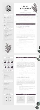 cv or cv 190 best resume design layouts images on cv template