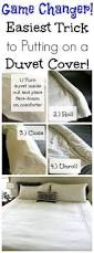 How Do You Clean A Feather Duvet A Surprisingly Easy Way To Put On A Duvet Cover This Is Genius