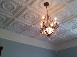 lovely tin ceiling tiles in kitchen taste