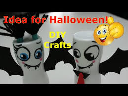 Recycled Halloween Crafts - diy recycled crafts ideas for halloween two cute bats out of