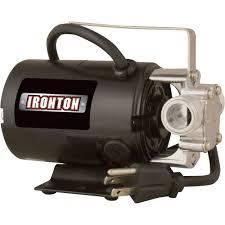 travel trailer water pump ironton transfer water pump u2014 300 gph 3 4in ports model
