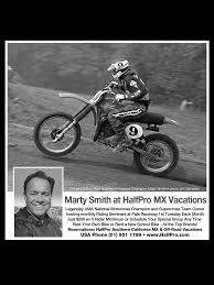 ama motocross schedule marty smith partners with halfpro motocross vacations motorcycle usa