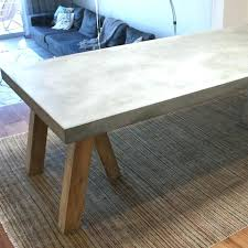 concrete and wood dining table concrete dining table concrete top dining table concrete top dining