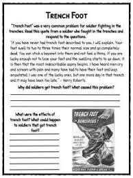 ww1 trenches facts about world war i trench warfare worksheets