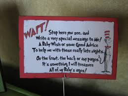 baby shower sign in book a pocket of poseys dr seuss baby shower