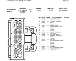 2008 f250 tow mirror wiring diagram diagram wiring diagrams for