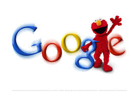 google logo the tech journal google pinterest elmo google