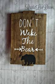 Bear Decorations For Home Best 25 Woodsy Decor Ideas On Pinterest Magnolia Market