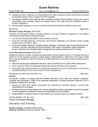 sample resume for it companies resume for your job application