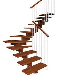 limon d escalier en bois escalier aerien contemporain
