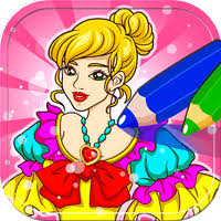 cinderella coloring book android free download mobomarket