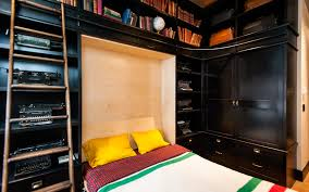 Guest Bed Small Space - maximize small spaces murphy bed design ideas