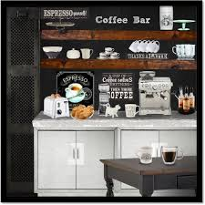 At Home Bar At Home Coffee Bar By Obriendeb812 On Polyvore Featuring Interior