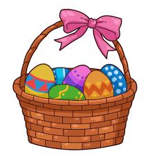 easter basket easter basket free clipartme