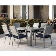 Wayfair Patio Furniture Wade Logan Cosima 7 Piece Dining Set With Cushion U0026 Reviews