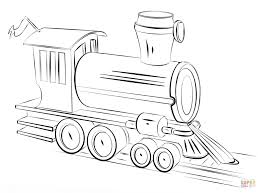 steam train locomotive coloring free printable coloring pages