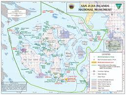 National Harbor Map San Juan Islands National Monument Oregon Washington Blm
