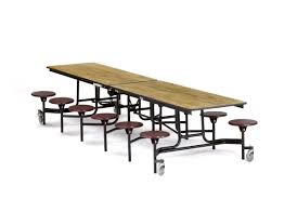 Break Room Table And Chairs by Stool Rectangular 12ft Table With 12 Stools