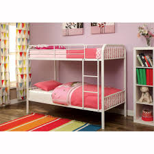 furniture of america cm bk1035 rainbow metal bunk bed the mine furniture of america cm bk1035 rainbow metal bunk bed