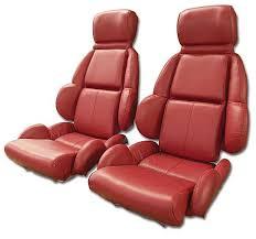 1992 corvette interior 1989 1992 corvette mounted leather seat covers standard seats