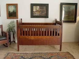 312 walnut victorian baby crib lot 312 vintage baby nursery