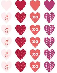 valentines day for s day label templates s day label
