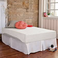 Bed Frame Set Therapy Memory Foam 10 Inch Pressure Relief Mattress