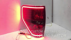 2010 ford f150 tail light cover custom oem tail light ford f 150 raptor 2009 2014 led 15 style