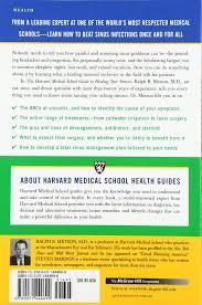 Winter Garden Family Health Center Harvard Medical Guide To Healing Your Sinuses Harvard