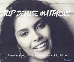 Vanity Denise Matthews Gone Too Soon Video In Memory Of Denise