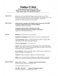 Can Resumes Be Front And Back Office Resume Format Resume Peppapp