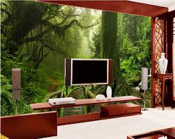online get cheap rain forest pictures aliexpress com alibaba group custom mural photo 3d room wallpaper tropical rain forest home decoration painting picture 3d wall murals