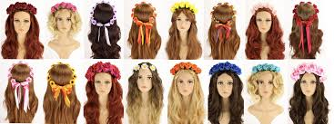 festival flower headbands floral crowns lullabellz