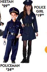 Boys Police Officer Halloween Costume Sociological Images