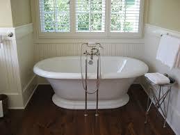large 2 bathroom with dark floors on craft1945 a modern classic
