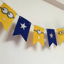 minion baby shower decorations shop yellow baby shower decorations on wanelo