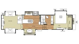 5th Wheel Camper Floor Plans by New 2018 Forest River Riverstone Legacy 38re 1521