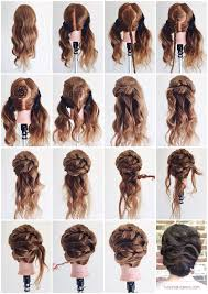 wedding hairstyles step by step instructions photos step by step updo instructions black hairstle picture