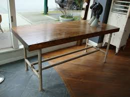 kitchen island with pipe legs scott landon antiques gallery