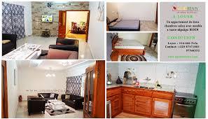 chambres meublées à louer location de 3 pieces meuble a tanto akpakpa actualite immobiliere