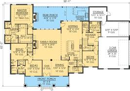 acadian floor plans acadian home plan with outdoor kitchen 56376sm architectural
