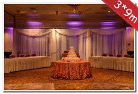 wedding backdrop size 3 9m big size wedding decoration background curtain backdrop