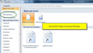 how to find business card templates in microsoft word 2010