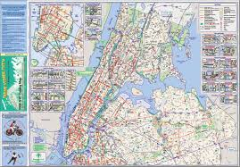 Map Of Manhattan New York City by Nyc Gov Bike Map Archive Nyc Bike Maps