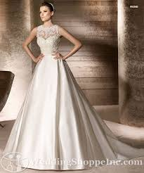 illusion neckline wedding dress neckline