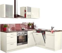 winkelküche mit elektrogeräten l küchen kaufen winkelküchen eckküche otto
