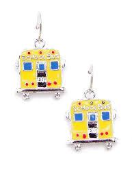 school earrings yellow school earrings earrings