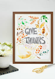 Thanksgiving 2015 Free Watercolor Thanksgiving Printable Place Of My Taste