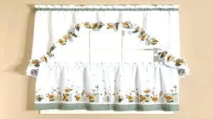Sunflower Valance Curtains Sunflower Curtains For Kitchen And Sunflower Kitchen Curtains